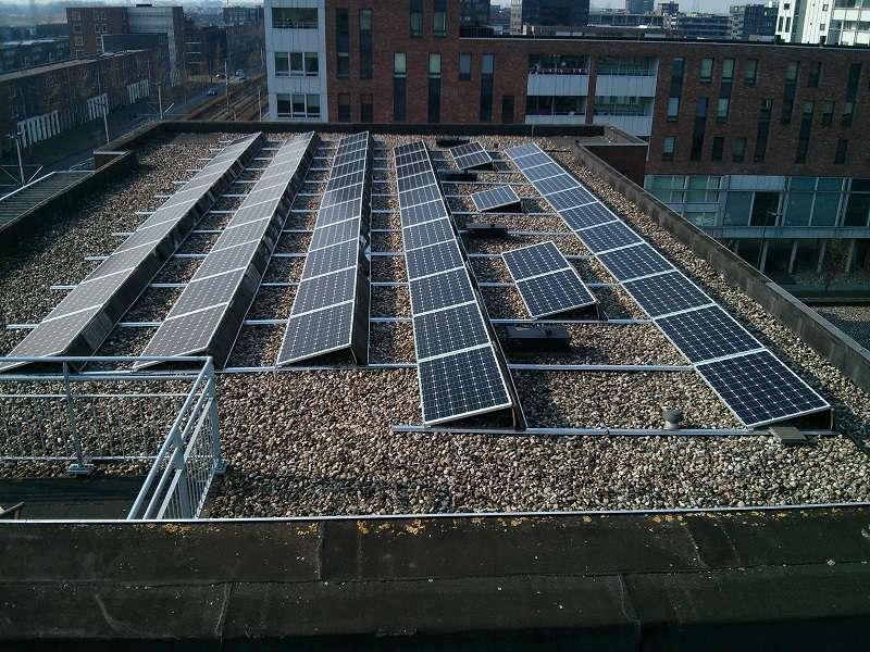Uitbreiding zonnepanelen VvE IJburg