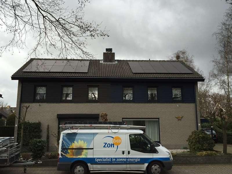 Zonnepanelen in Brabant