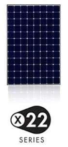 Sunpower x 22 hoog rendement zonnepaneel