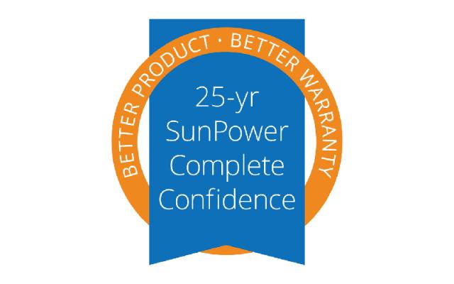 SunPower verhoogt vermogensgarantie naar 25 jaar