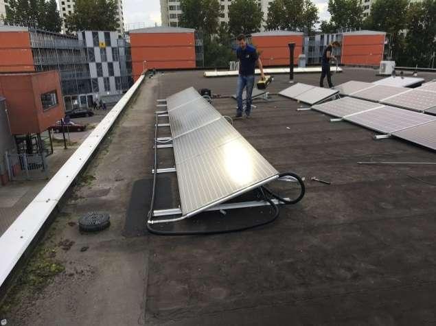 PVT warmtepompsysteem voor kantoor Zon&Co